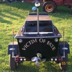 boat motorcycle trailer