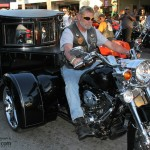 Motorcycle hearse trailer