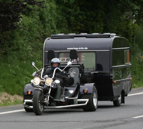 Teardrop bicycle camper bicycle campers pinterest campers - Pull Behind Motorcycle Trailers
