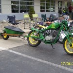 john deere bike and motorcycle trailer
