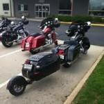 single wheel harley motorcycle trailer