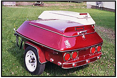 Country trailers The Breeze. An Agressively Styled Motorcycle Trailer
