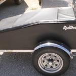 Pull Behind motorcycle trailer