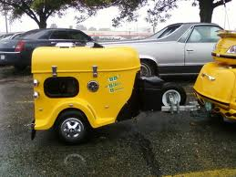 Waggs pet motorcycle trailer