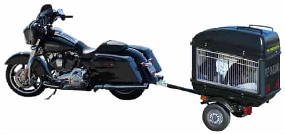 dog trailer motorcycle harley