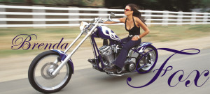 Woman Motorcycle Rider BRENDA FOX
