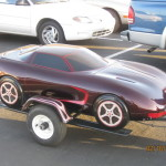 car replica motorcycle trailer