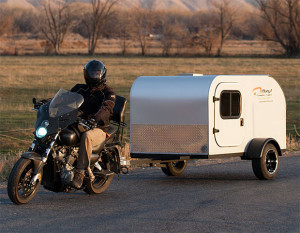 moby motorcycle trailer