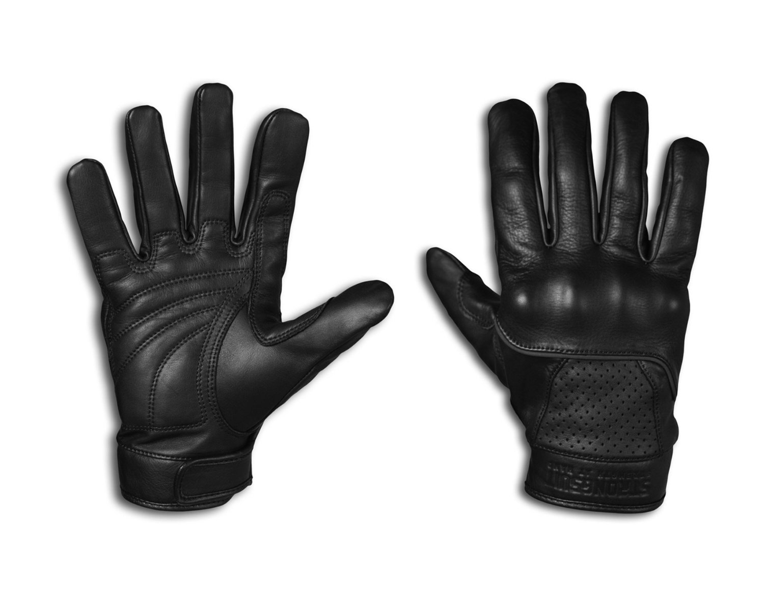 Motorcycle gloves large - 2 Leather Motorcycle Gloves