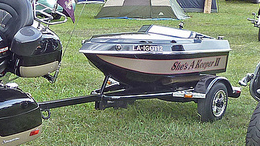 Boat Motorcycle Trailers
