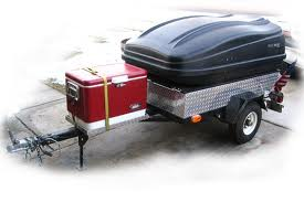 Home Made Motorcycle Trailers