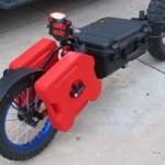 Adventure pull behind motorcycle trailers