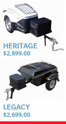Heritage Motorcycle Trailer