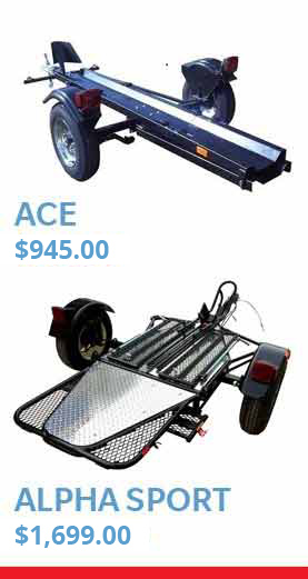 Ace Motor cycle trailer