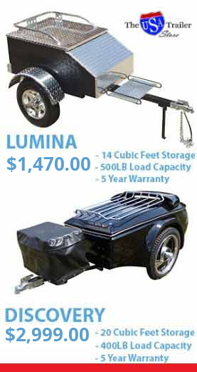 Lumina Motorcycle Trailer