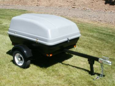 Motorcycle Cargo Trailer from sears cargo bin
