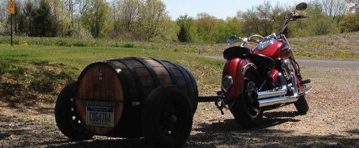 50 gallon whiskey barrel motorcycle trailer building plans