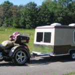 Motorcycle Camper Trailer Pull Behind Motorcycle Trailers