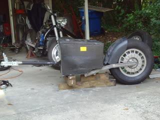 mono wheel trailer