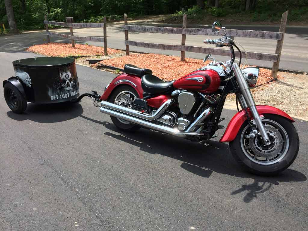 Get Lost Trailers The General Motorcycle trailer