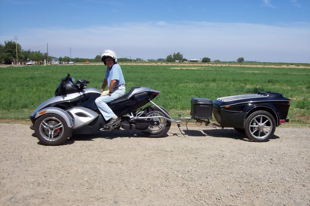 Pull Behind Motorcycle Trailers -Can Am Spyder Trailer