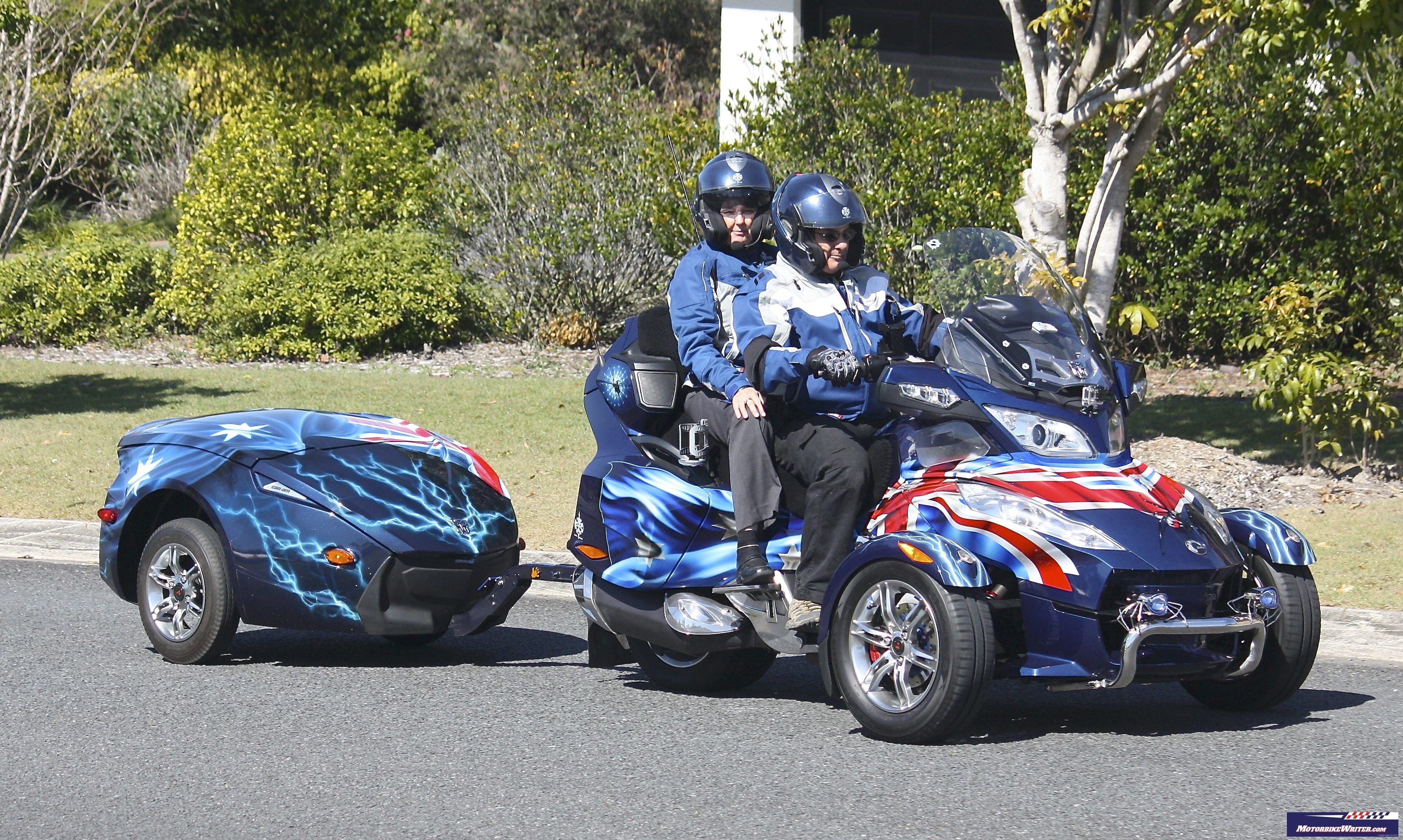 Pull Behind Motorcycle Trailers Can Am Spyder Trailer