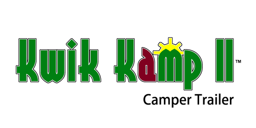 Kwik Kamp II Camper Trailer wordmark logo